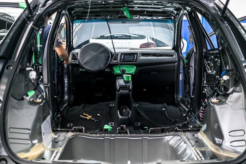Blindagem de carros nível 3
