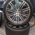 Conserto de pneu blindado