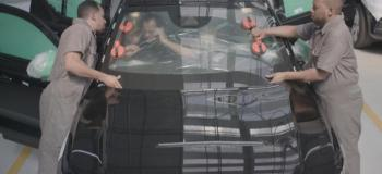 Reparo de vidros blindados